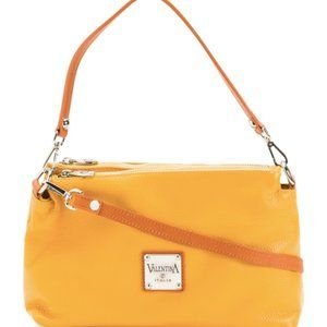 VALENTINA Italy Mustered Leather Crossbody